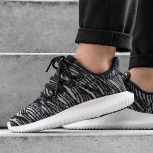 NEW Adidas Tubular Shadow Womens Black and Gray